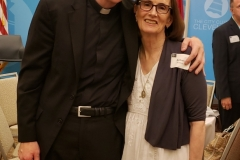 Fr. Bryan with his mother Barbara Norton